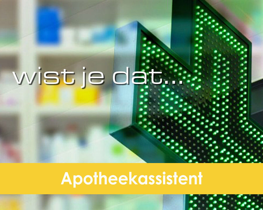 Wistjedat apotheekassistent